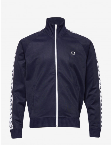 Fred Perry Taped Track Jacket Carbon...