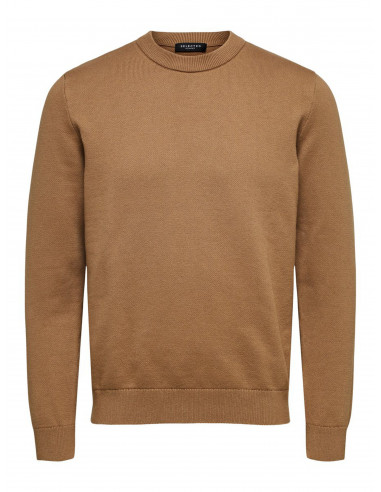 Selected Homme Clean Crew Neck Tigers...