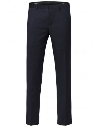 Selected Homme Slim Bill Trousers Navy