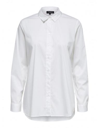 Selected Femme Fori Side Zip Shirt...